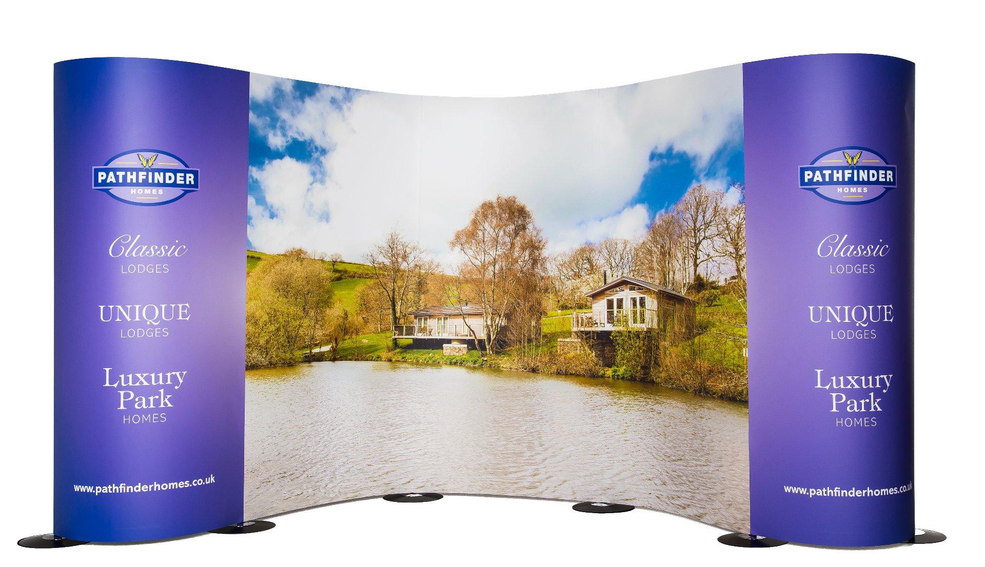 Streamline Display Stand