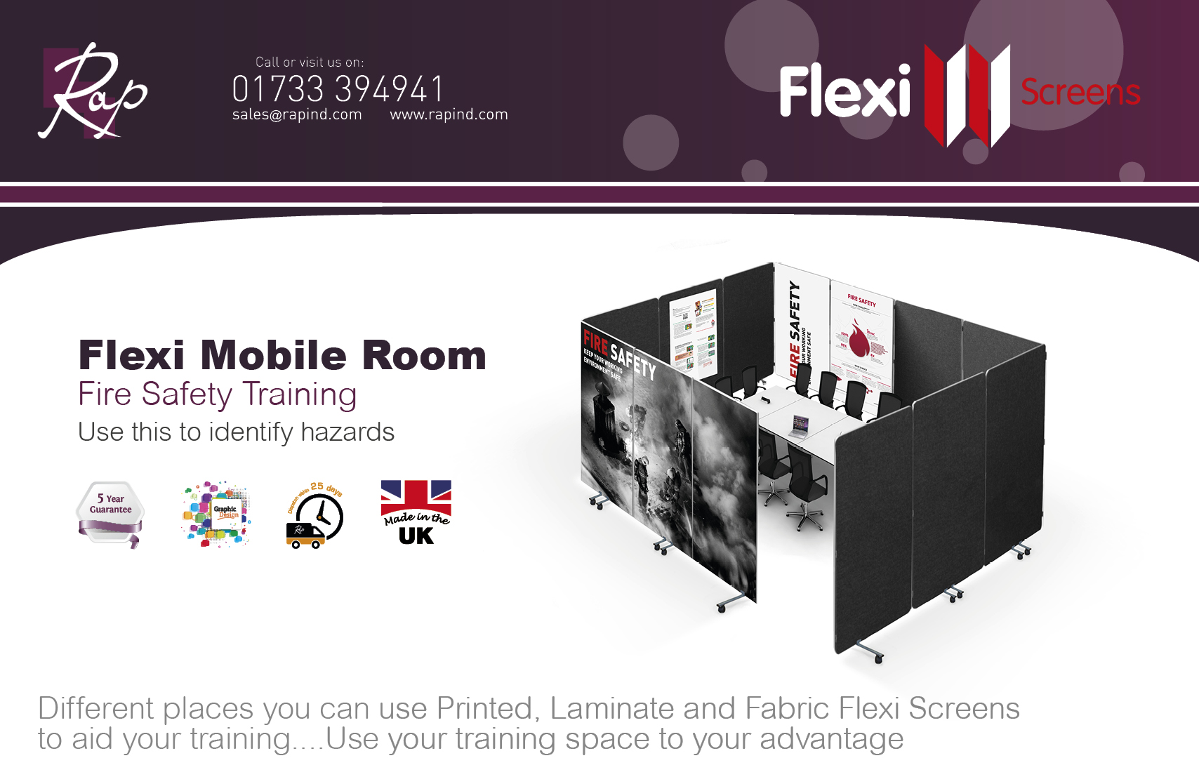 Flexi Room Fire Safety