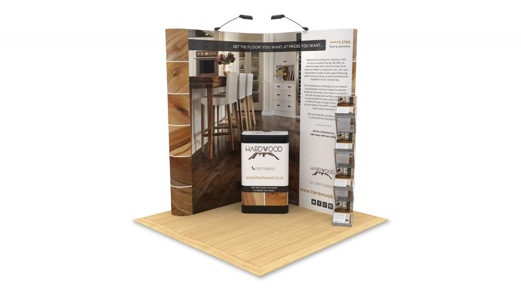 2m x 2m Pop Up Stand Bundle