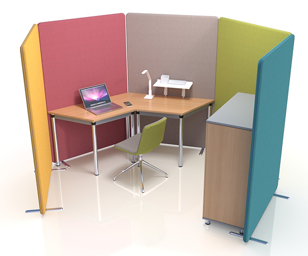 Delta Acoustic Office Screens