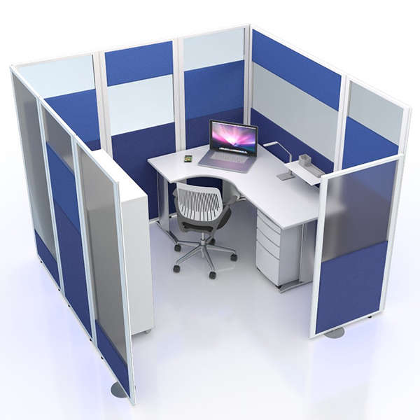 Social Distancing Work Pods