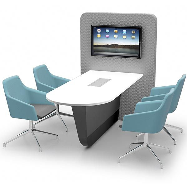 Cocoon Media Unit with Table