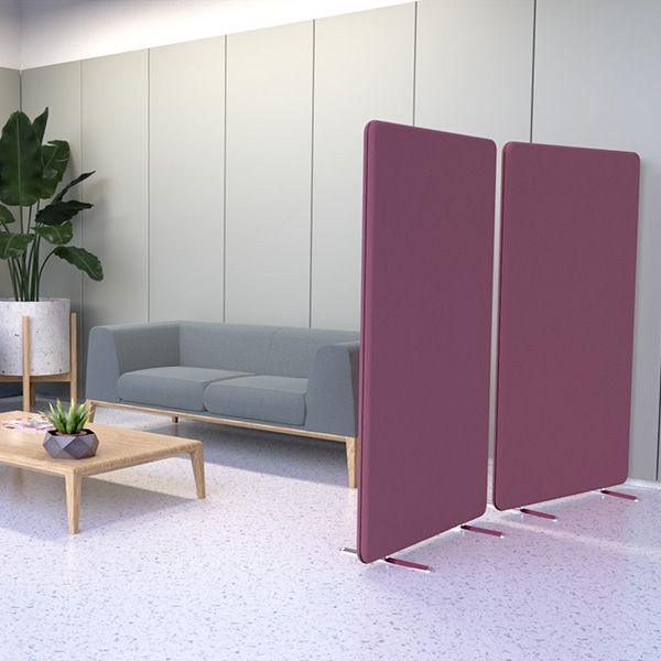 Delta Deluxe Straight Acoustic Partition Screen