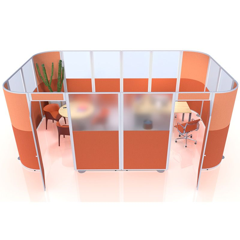 Elegance Acoustic Pod, large office or meeting space with 2 doors