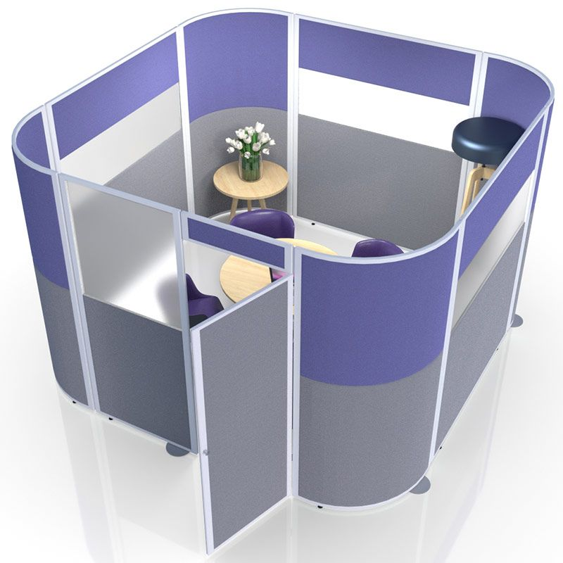 Grand Acoustic Pod created the ideal meeting area or private office where space is limited