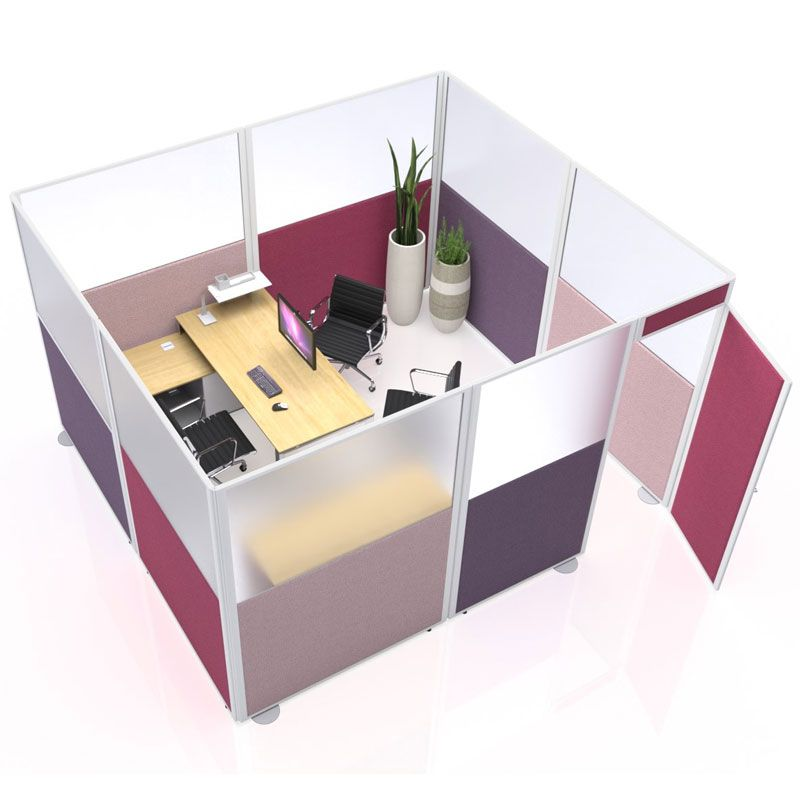 Inspire Acoustic Office Booth, designed and manufactured by Rap Industries