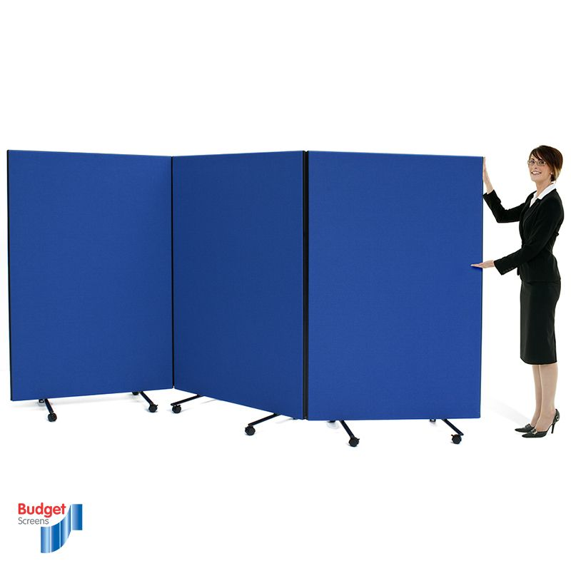 Budget Triple Safety Screens direct from Go Displays a Partition screen manufacturer