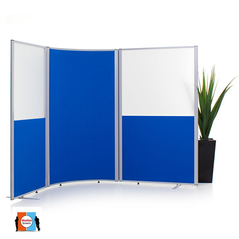 Morton Acoustic Curved Screen with 2 Morton Half Vision Screens