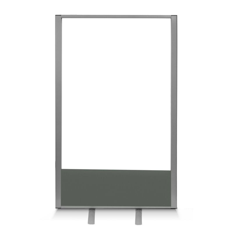 freestanding acrylic office divider