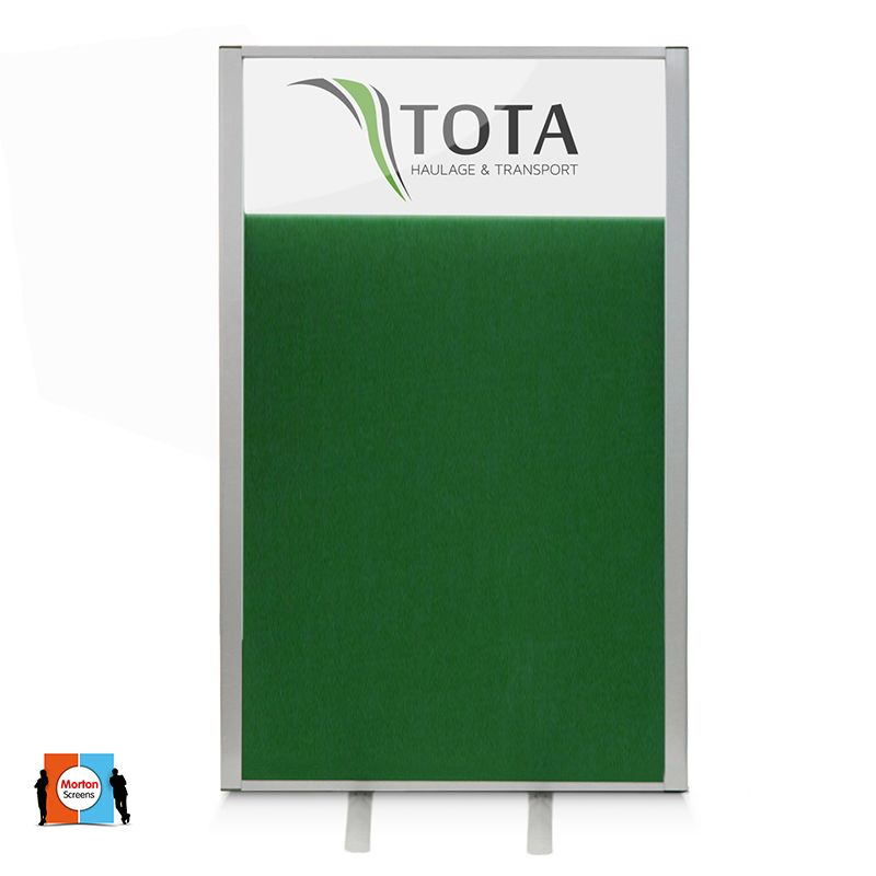 Morton Vision Top Screens are available with a choice of fabric colour finishes