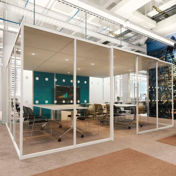 Qube 4 Pod, large meeting area or acoustic office space