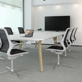 Lux Small Rectangular Meeting Table