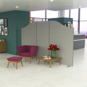 Budget Acoustic Screens are manufactured using 12mm acoustically tested foam