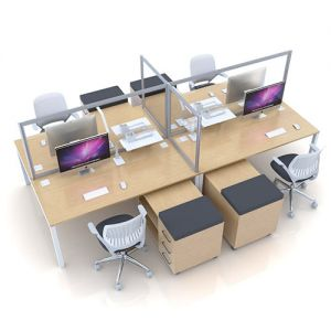 acrylic desktop dividers, suitable for social distancing