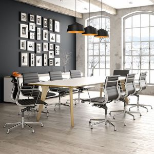 Lux large meeting table, 2 sections