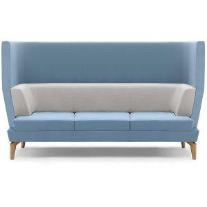 Entente 3 Seater High Back Sofa