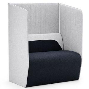 Hemm Single Seat Pod with 2 x Side Screens