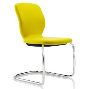 Lily Visitor chair with cantilever base and no arms