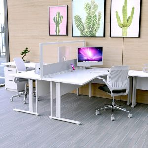 Morton Vision Laminate Desktop Screens