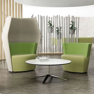Peek & Boo can be used as reception furniture