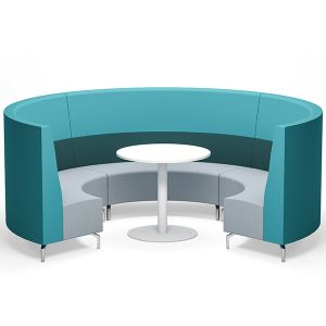 Raft Plus Semi Circle Seating
