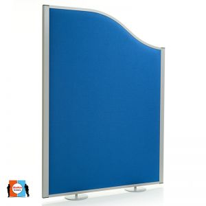 Morton wave Acoustic Screen with Round Screen Feet, available as an additional item.