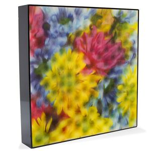 Sound Soak acoustic wall panels with print applied directly onto the foam