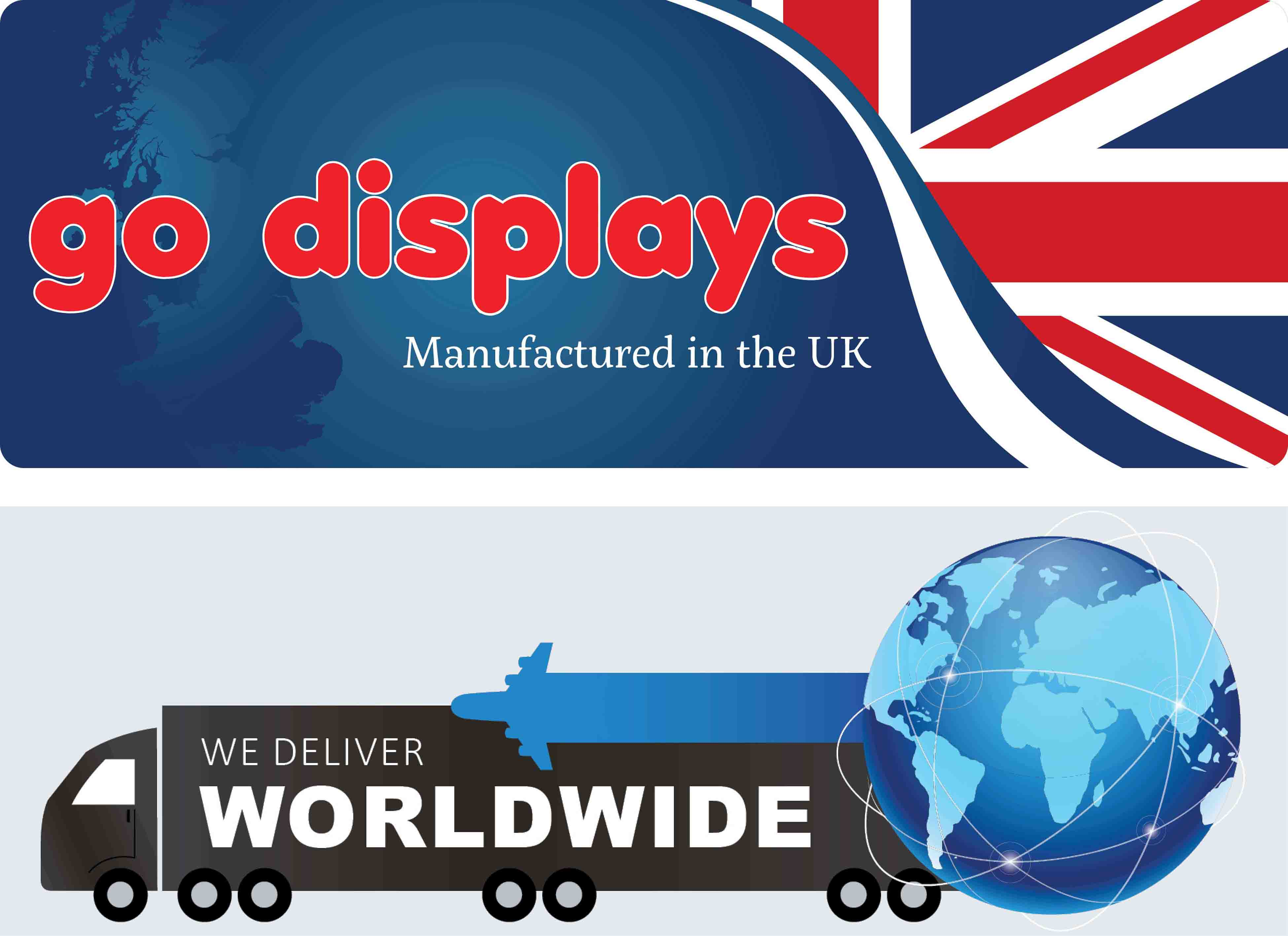 Go Displays, UK Manufacturer's of exhibition stands and office partitions