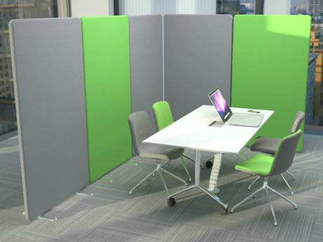 Acoustic Office Partitions and Screens