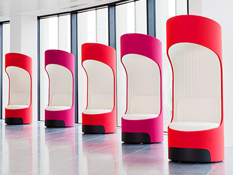 Cega Seat, part of the Breakout Furniture range from Rap Industries