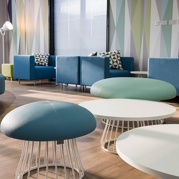 Magic Stools and Tables, perfect for any reception area or breakout area