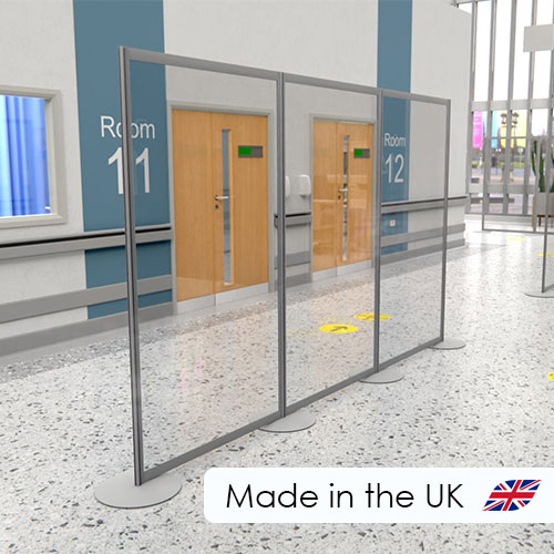 Acrylic and perspex in stock social distancing screens