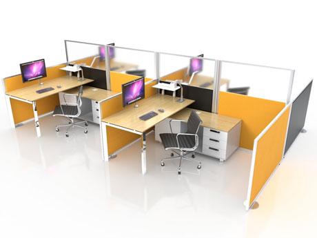 Glazed Office Screens from Rap Industries