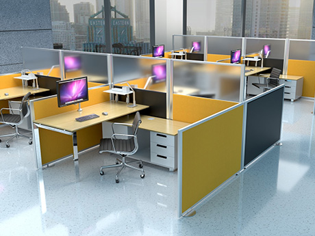 Glazed Office Screens