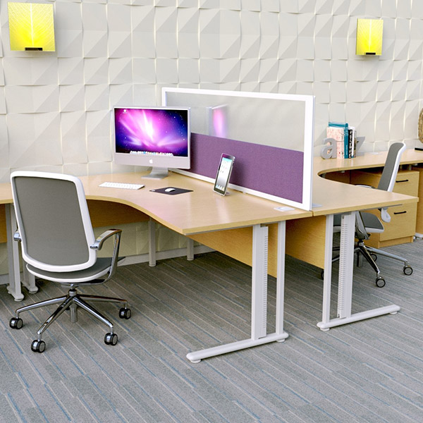 Desk Divider Screens from Rap Industries