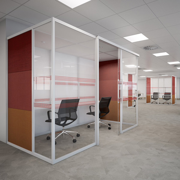 Qube Acoustic Office Pods