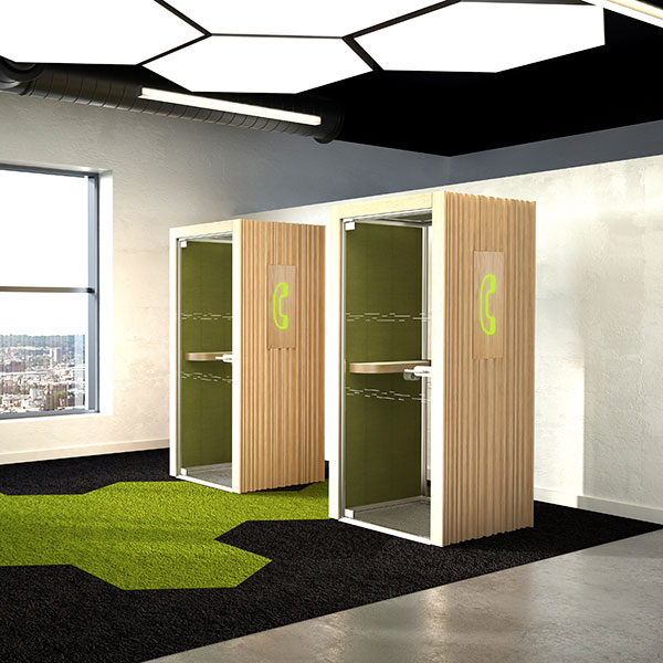 Telephone Booths and Pods from Rap Industries