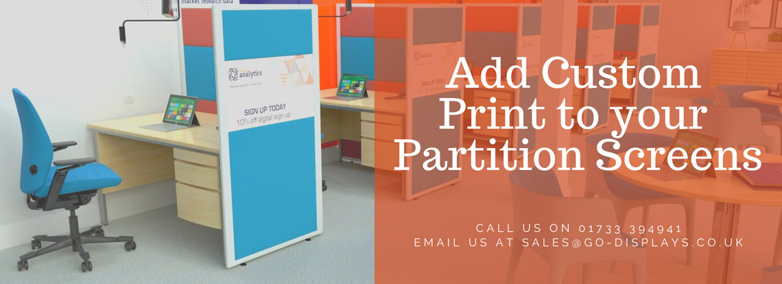 Printed Concept Office Partitions