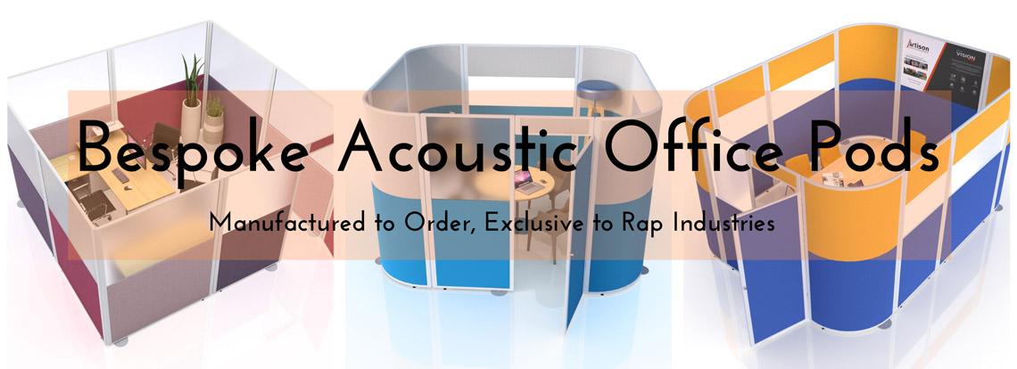 Bespoke Acoustic Office Pods