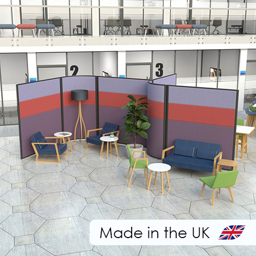 Acoustic Office Screens, all manufactured to order