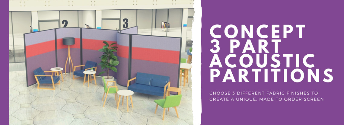 Concept Acoustic Office Screens