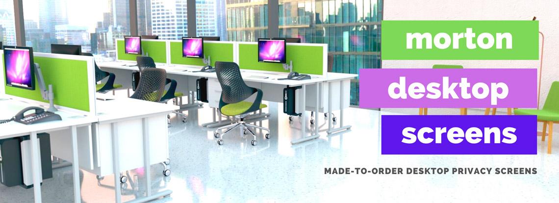 Morton Desktop Screens from Rap Industries