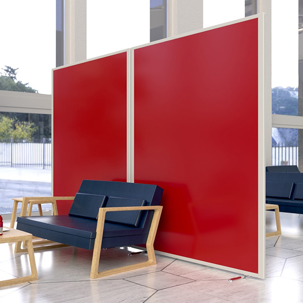 Laminate Office Screens and Partitions from Rap Industries
