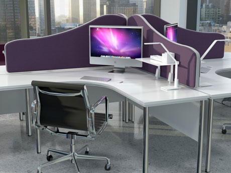 Acoustic Desk Divider Screens