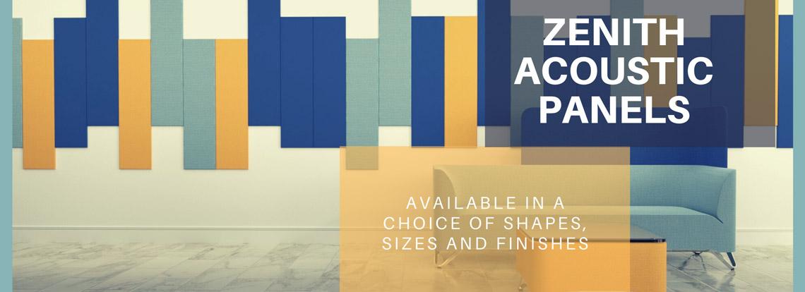 Zenith Acoustic Wall Panels