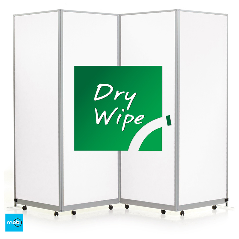 dry wipe portable screen for social distancing