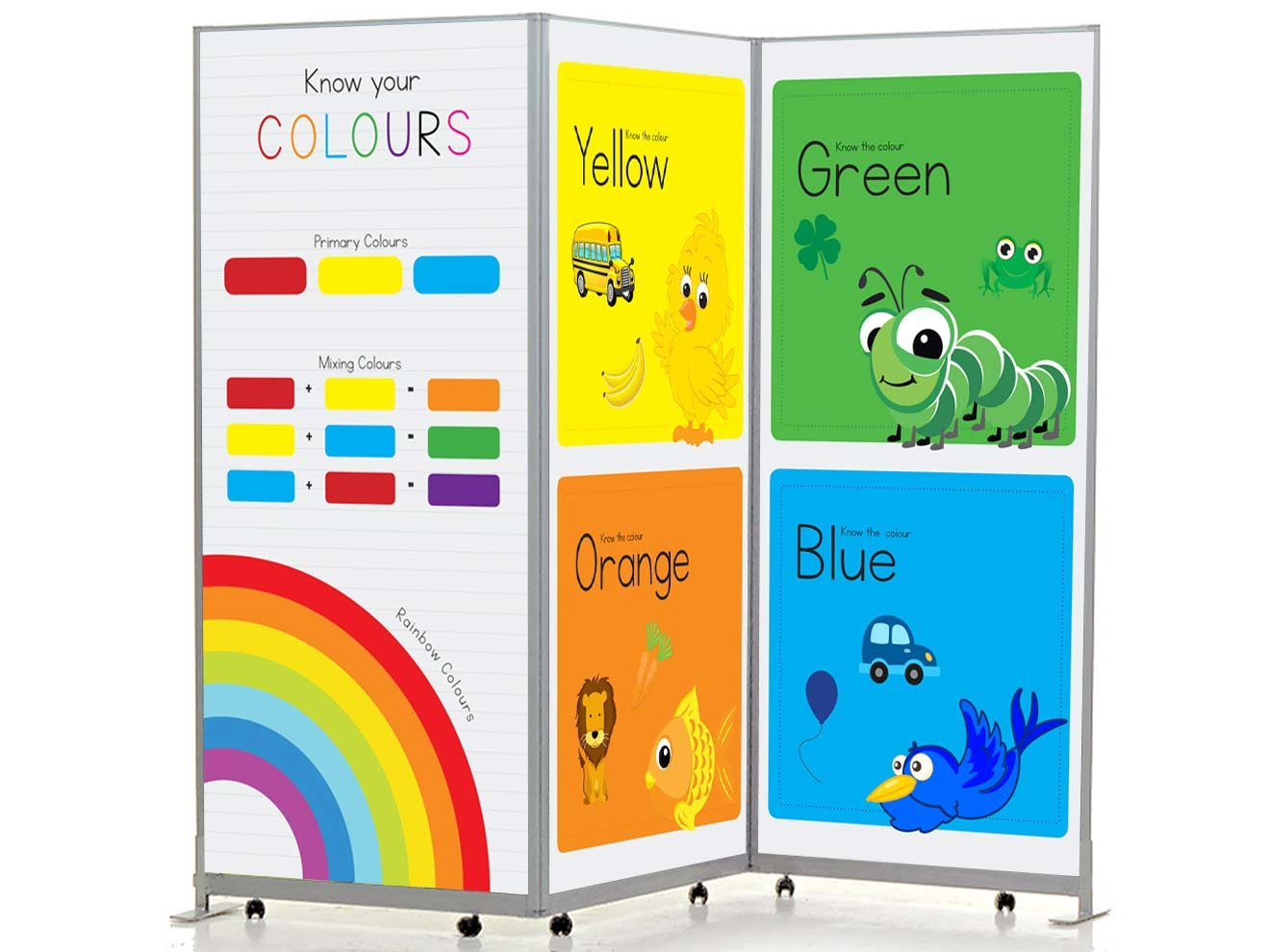 Printed Mobile Partitions