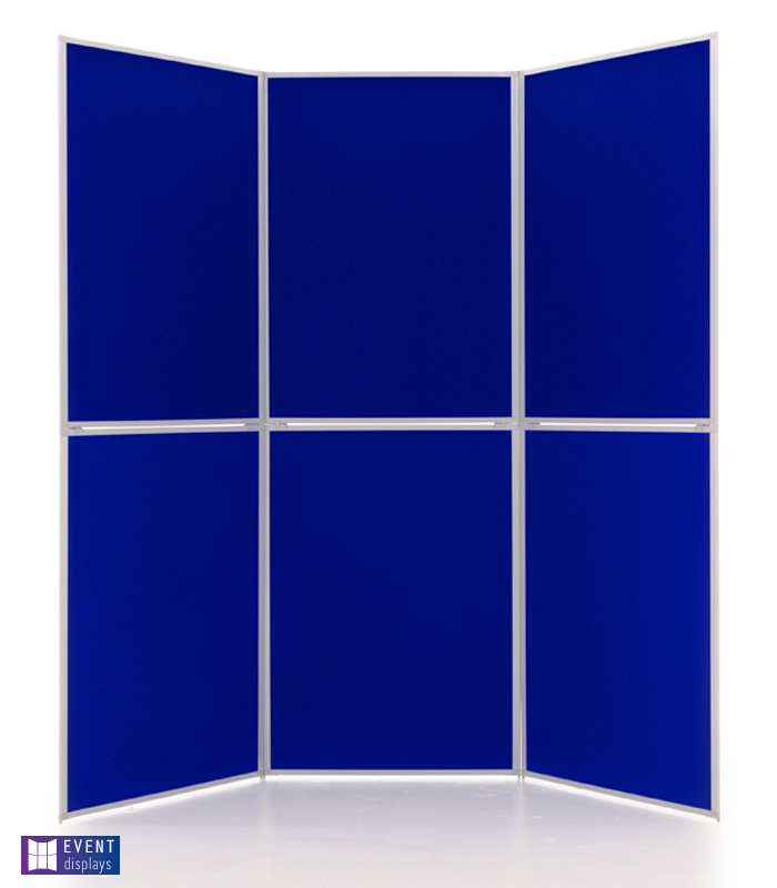 6 Panel Display Boards from Rap Industries