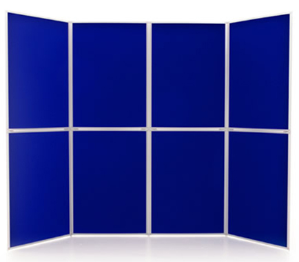 8 Panel Display Boards from Rap Industries