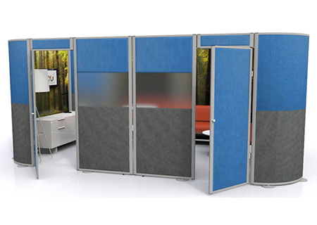 Acoustic Pods and Acoustic Booths from Rap Industries